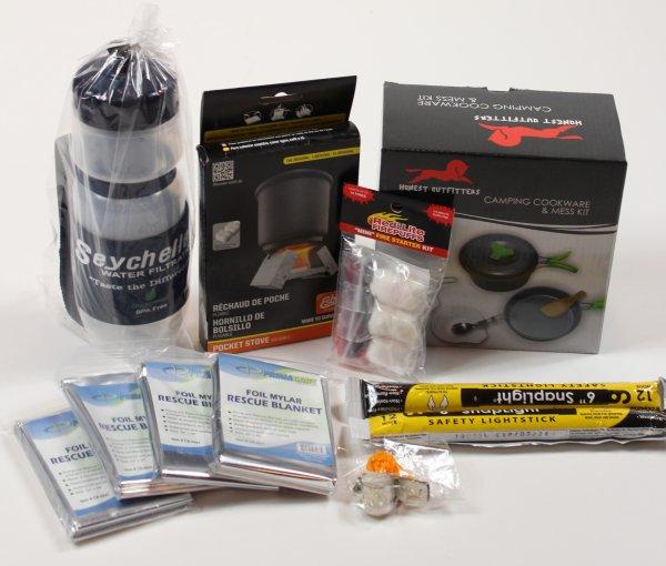 72 hr kit survival stuff