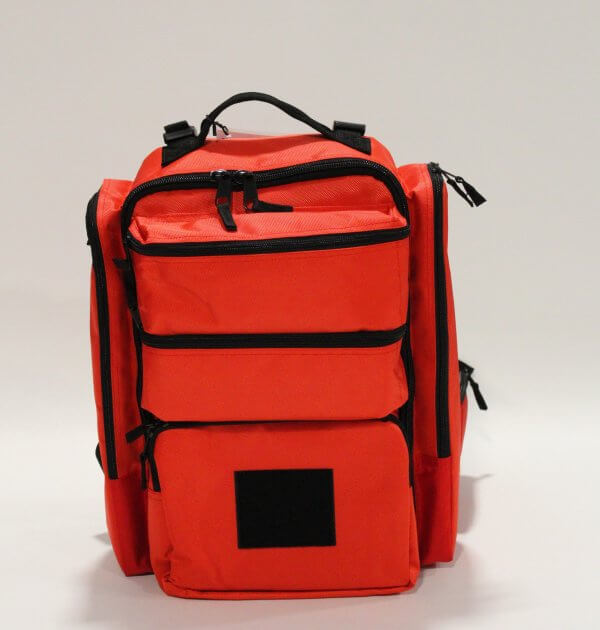 Trauma Backpack front closed
