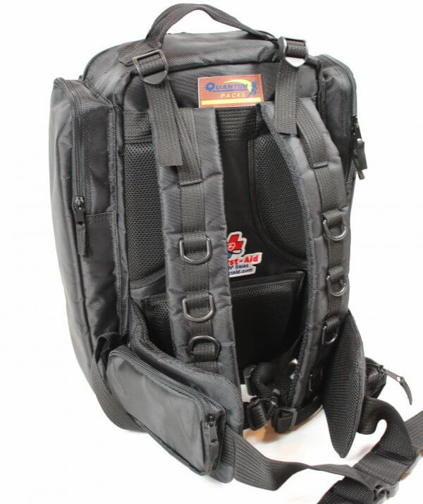 trauma backpack black back4