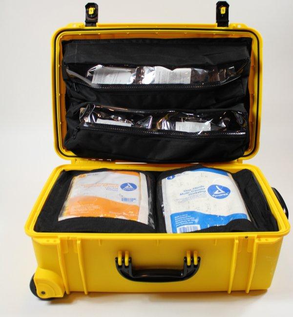 72 HR First-Aid, Trauma, Food, Survival Kit