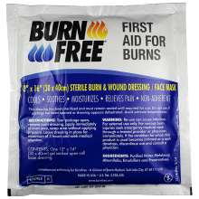 Burn Free 12 x 16 Face Dressing