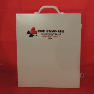 3 Shelf Metal First-Aid Cabinet