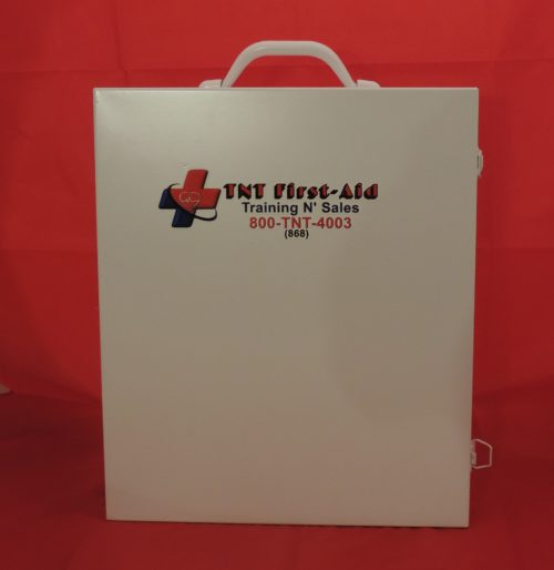 3 Shelf Metal First-Aid Cabinet