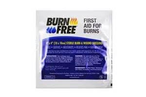 Burn Free 4 x 4 dressing