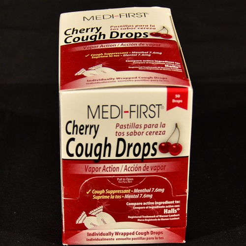 Medi-First Cherry Cough Drop 50 ct