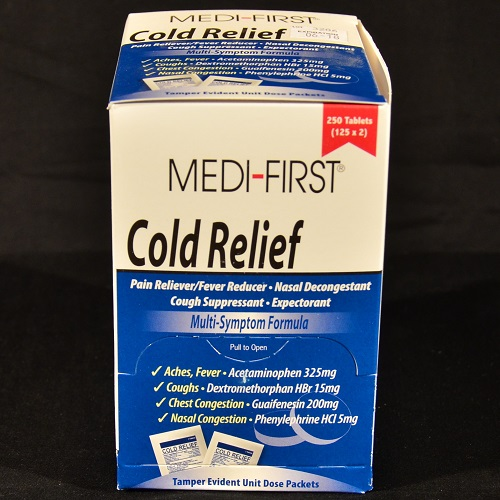 Medi-First Cold Relief 250 ct.