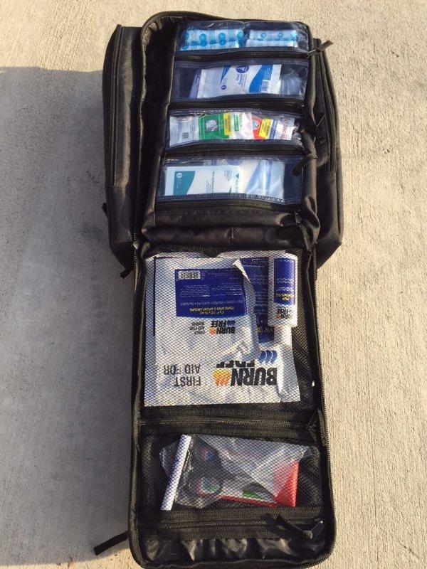 Trauma Backpack Black 4