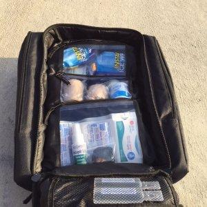 Trauma Backpack Black