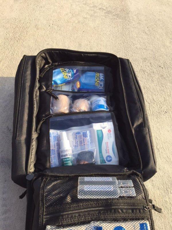 Trauma Backpack Black 2