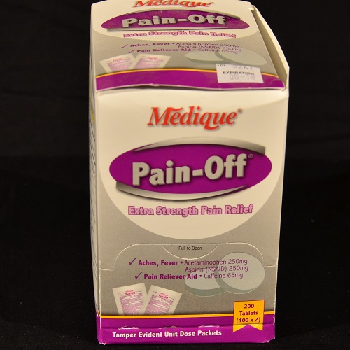 Medique Pain Off (excedrin) 200 ct.
