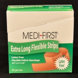 Fabric Xtra Long Bandage 40 ct.