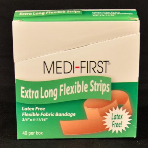 Fabric Xtra Long Bandage 40 ct