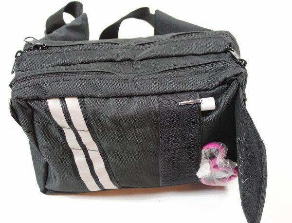 fanny pack open flap