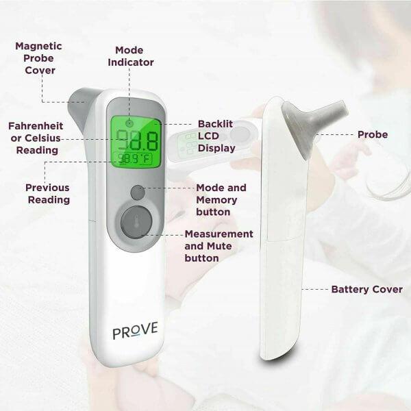 prove thermometer 3